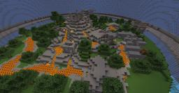 Survival Games Arena Planet - Inside the Volcano Minecraft Project