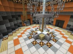 Deluxe Gold TARDIS Console Room Minecraft Project