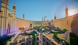 Crystal Palace / Kryształowy pałac Minecraft Map & Project