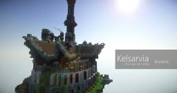 Kelsarvia - The Elven Sky Fortress Minecraft Map & Project