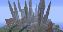 Montibus Castle and world - Giant classic minecraft castle Minecraft Map & Project