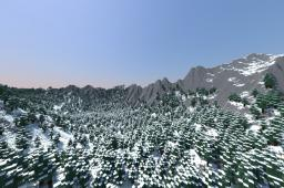 [Custom Terrain] [1.6.4 Ready]  The Arkadia Mountains (Download) Minecraft Map & Project