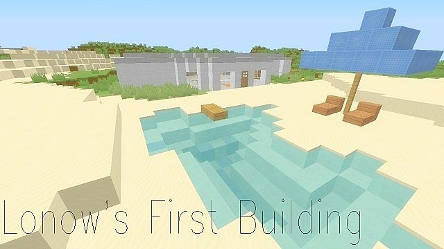 Lonow 39 s first building modern house in description for Modern house description
