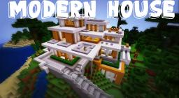 Epic Modern House In Minecraft! Minecraft Map & Project