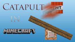 Working Catapult in Minecraft Minecraft Map & Project