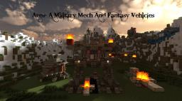 [Ares]- A Military Mech Minecraft Map & Project