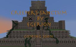 Creeper's Sanctum (mini adventure map from Egerion) Minecraft Project