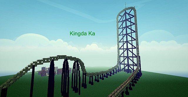 kingda ka rollercoaster 1 6 4 minecraft project