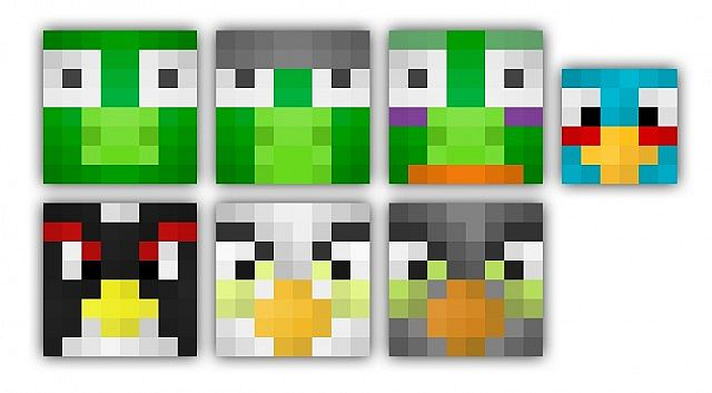 The Mobs i changed.