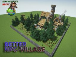 Better NPC - Village Minecraft