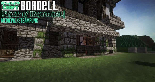 Shop Front Brothel Myths Of Daedwin Minecraft Project
