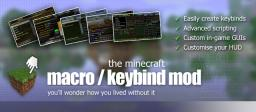 Macro / Keybind Mod for Minecraft 1.12.1 Minecraft