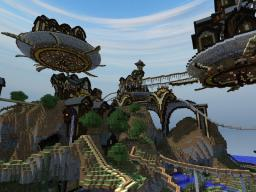 Rapscallion - A Rambunctious Rickety Roller Race - Roller Coaster Contest 5th place Minecraft Map & Project