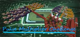 Pulse Multiplier Challenge (No Droppers or Dispensers) Minecraft Map & Project
