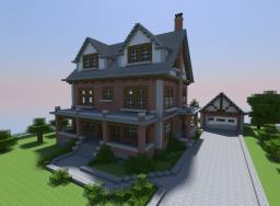 Late 1800's Brick House Minecraft Map & Project