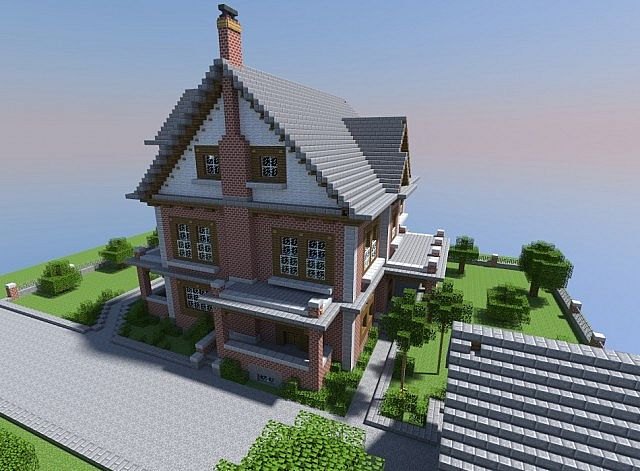 Late 1800 U0026 39 S Brick House Minecraft Project