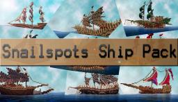Snailspots Ship pack Minecraft Map & Project