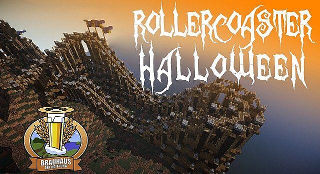 The spooky halloween rollercoaster by BrauhausderHoffnung