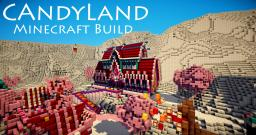 Candy land Minecraft Map & Project