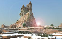 Snow Castle Minecraft Map & Project