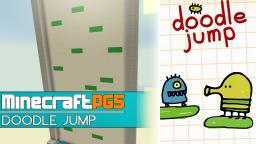 Doodle Jump in Minecraft - working - Minecraft 1.7 Snapshot Minecraft Map & Project