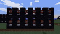 Cluster Tnt Cannon Minecraft Map & Project