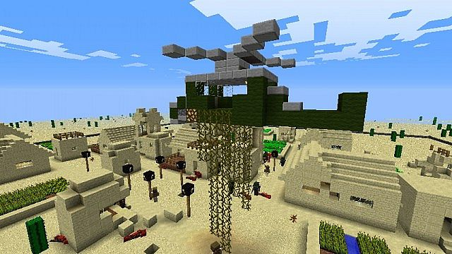 Minecraft War Map TDM Minecraft Project