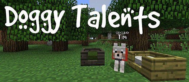 Скачать мод doggy-talents для майнкрафт 1. 7. 10.