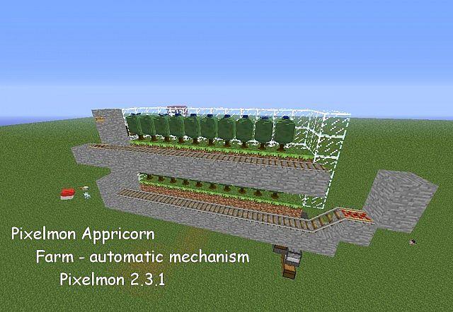 Automatic Apricorn Farm [Pixelmon 2 3 1] Minecraft Project