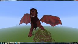 Giant Manticore Statue Minecraft