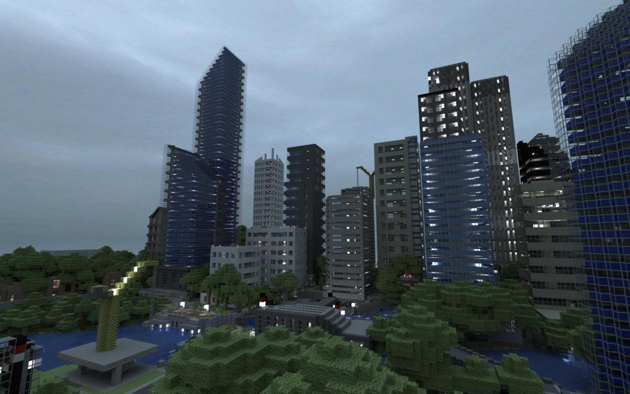 Minecraft : City Of Bones Minecraft Project