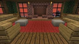 A couch you can actually sit on! Minecraft