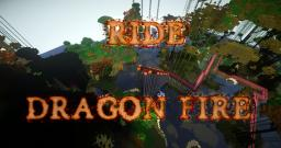 Ride: Dragon Fire Themed Coaster for Contest Minecraft Map & Project