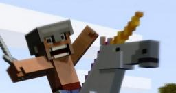 Villager went Fishing + Baby Unicorn - Minecraft Animation Video