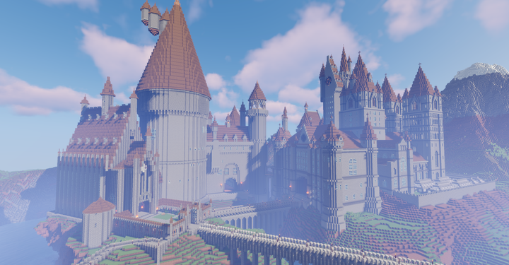 Hogwarts is almost done! Yay!