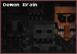 DEMON BRAIN | Minecraft Horror Map 1.11.2 Minecraft Map & Project