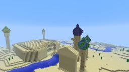 The Sandy Temple Minecraft Map & Project