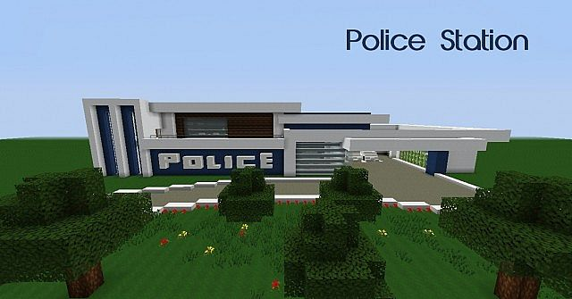 Modern] Police Station Minecraft Project