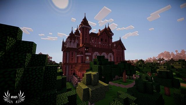 minecraft how to build a small mansion