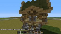 Elven House Minecraft
