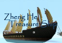 Zheng He Treasure Ship Minecraft Map & Project