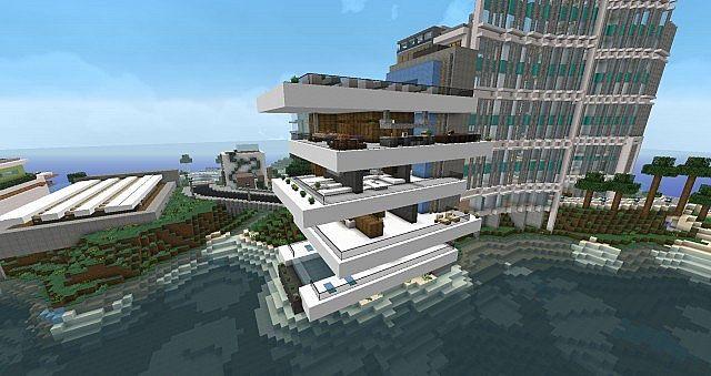 Oceanview Condos Modern Minecraft Project