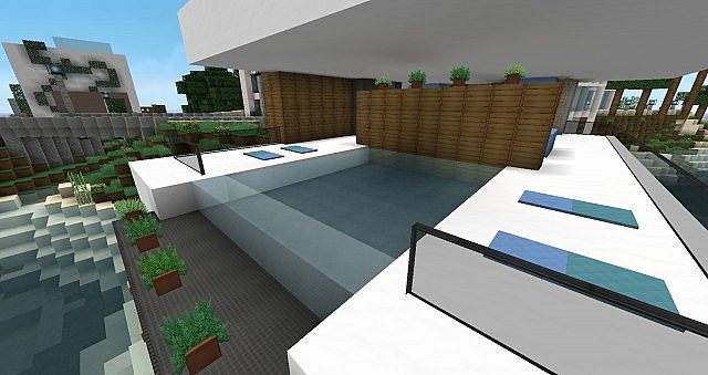 Oceanview Condos Modern Minecraft Project