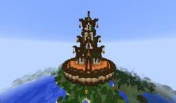 Flying server spawn [ Minecraft 1.7 ] Minecraft Map & Project