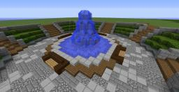 Town Square Minecraft Map & Project