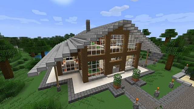 Huf house huf haus minecraft project