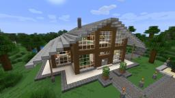 Huf House - Huf Haus Minecraft Map & Project