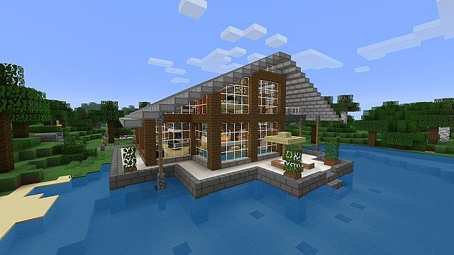 Huf House - Huf Haus Minecraft Project