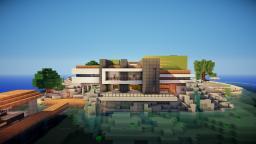 BayView Beach Living ||MODERN HOUSE|| PwegoServer Minecraft