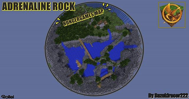 HUNGER GAMES MAP (NEW) by Suzukiracer222 Minecraft Project